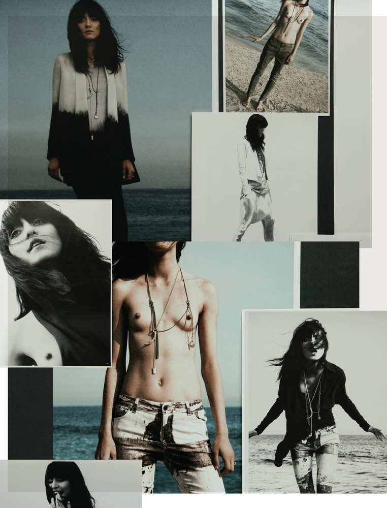 Iris Magazine, Lucy Pinter, Superfine Denim